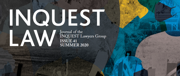 NEWS: Issue 41 of Inquest Law Magazine